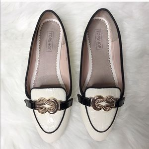 Off White TopShop Loafers
